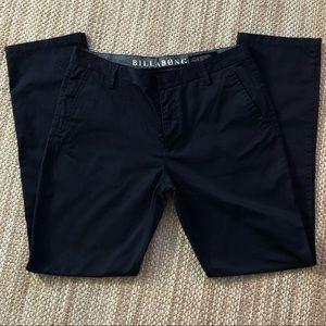 Billabong mens carter pants 36